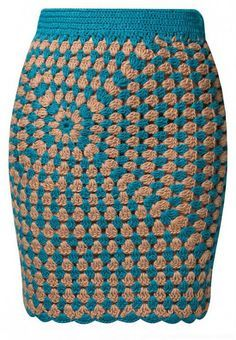love this >>> granny square cardigan and skirt (interesting asymmetrical pattern) ... cardigan is awesome too... see it at the link >