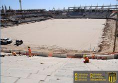 #EstadioCAP | Postales de las obras de construcción del Estadio de Peñarol | 14 Meses en obra