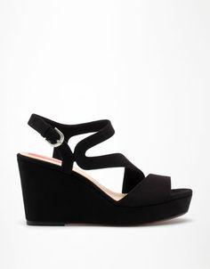Bershka France - Chaussures compensées BSK asymétriques