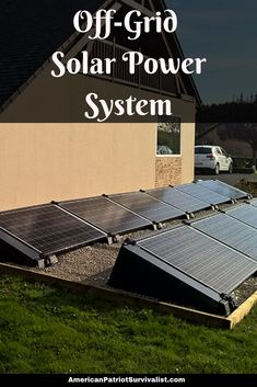 Are you interested in designing an off-grid DIY solar power system? Here are the 6 steps on how to build your own solar power system so you can be self-sufficient. (Don't skip step number Uses Of Solar Energy, Solar Energy Panels, Best Solar Panels, Off Grid Solar Power, Solar Energy System, Off Grid System, Solar Projects, Energy Projects, House Projects