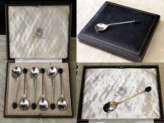 servizio di cucchiaini da caffè silver