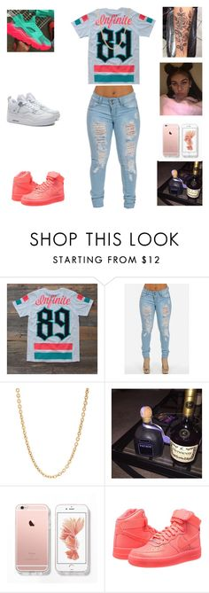"""""""infiniti"""" by aleisharodriguez ❤ liked on Polyvore featuring NIKE, Retrò and Mark Davis"""