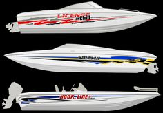 Incorporate a Boat Name - New! : RACELINE DIGITAL, Hull and Deck Graphics | Motorsport Graphics