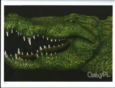 Alligator (page 1) by Gabriela P.