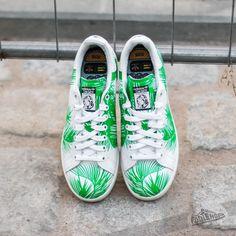 best service 21d4e 00fd2 adidas Pharrell Williams Stan Smith Billionaire Boys Club Palm FtwWhite   Viv Green  Off White