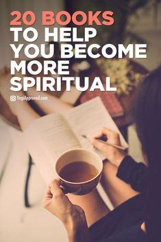 20 Books To Help You Become More Spiritual  RePinned By: Live Wild Be Free www.livewildbefree.com Cruelty Free Lifestyle & Beauty Blog.
