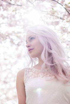 Portraits im Kirschblütenmeer mit Laura   hellbunt fotografie