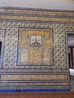 Wonderful tile work in Seville.