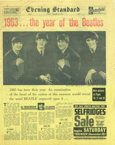 1963, the year of the Beatles