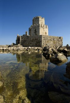 Europe   Ancient Fortress of Methoni, Peloponnese, Greece