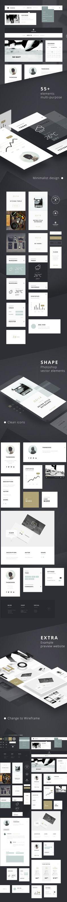 55-free-ui-kit-elements – UI-Kits