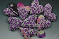 Ron Lehocky on PCD (donated scrap becomes heart pins)