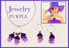 #jewelry#handmade#bohemian#boho#woman#woman-style#girl#girl-style#colors#Tassel #vintage#hippie#design#wonderful#simple#gift#occasion#perfect#outfit#summer#party Hippie Designs, Purple Jewelry, Vintage Hippie, Girl Fashion, Womens Fashion, Simple Gifts, Summer Outfits, Bohemian, Handmade