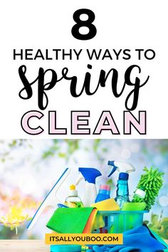 Do you need to declutter, organize and clean up your life? Click here for 8 ways to spring clean your life, not just your home or bedroom. This checklist for decluttering has tips, ideas, and hacks for organizing your entire life. From your closet and wardrobe to your car and social media accounts, spring cleaning is easy! Plus, get your FREE Printable Spring Clean Your Mind Checklist, to help you spring clean your mental health. Bathroom Cleaning Hacks, Diy Cleaning Products, Home Organization Hacks, Organizing, Cool Dorm Rooms, Positive Living, Cleaning Checklist, Healthy Lifestyle Tips, Decluttering