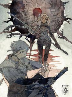 [PFFK]Chapter III:Bloody Sun by laziesheaven