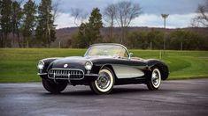 1956 Chevrolet Corvette Convertible #chevroletcorvette1962