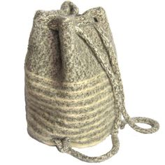 Ravelry: Duffle Knit-and-Felt Bag pattern by Sue Parker and Alice Underwood