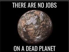 There are no JOBS on a DEAD planet you fucking idiots. - There are no JOBS on a DEAD planet you fucking idiots. There are no JOBS on a DEAD planet you fucking idiots. Our Planet, Save The Planet, Planet Earth, Save Our Earth, Our Environment, Environment Quotes, Protest Signs, Global Warming, Going Vegan