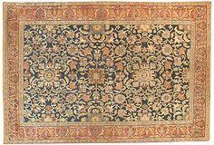Antique Persian Senneh, 4'7