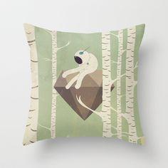 d i a m a n t e - v o l a n t e Throw Pillow by Marco Puccini - $20.00