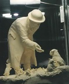 thornyc   Art Appreciation Corner: The Butter Sculptures of Sharon BuMann