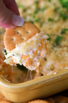 Jalapeno Popper Dip is my go to party appetizer. Rich cream cheese, spicy diced jalapenos and sharp cheddar are topped with crispy Panko bread crumbs and baked until warm and gooey. The result is the most incredible dip, reminiscent of the appetizer we all love so much!