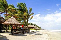 Cua Dai Beach in Hoi An, Vietnam.