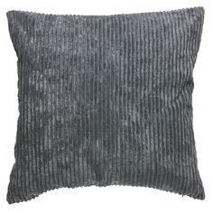 Wilko Jumbo Cushion Grey 55x55cm