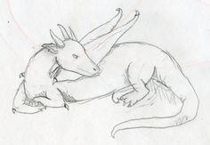 easy dragon drawings - Google Search