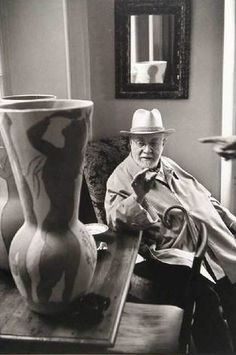 Henri Matisse, photo by Henri Cartier Bresson