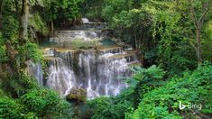 One of Thailand's best-kept secrets, Huay Mae Khamin waterfall can be found in the forests of Khuean Srinagarindra National Park. The w...