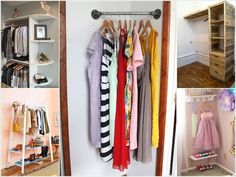 Clothes Storage Without A Closet Diy Small Spaces Organization Ideas 31 Ideas Clothes Storage Without A Closet Diy Small Spaces Organization Ideas 31 Ideas Corner Storage, Closet Storage, Bedroom Storage, Closet Organization, Corner Rack, Organization Ideas, Clothing Organization, Clothing Racks, Organizing