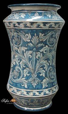 Ceramica Tiffany Civita Castellana.26 Fantastiche Immagini Su Albarelli Nel 2019 Ceramica