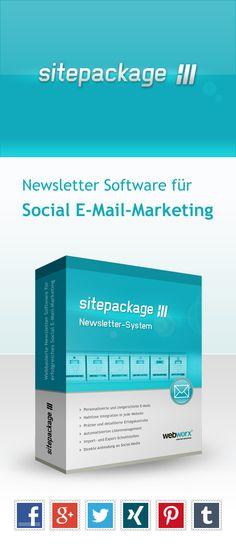 sitepackage:// Newsletter-System - Newsletter Software für Social E-Mail-Marketing