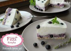 Fitti Konyha: Fitti áfonyás joghurttorta recept (gluténmentes)