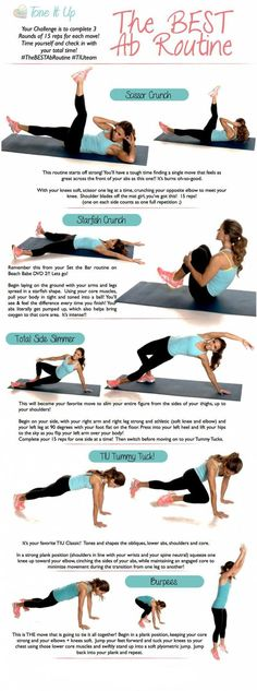 The Best AB exercises for women