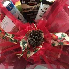 Business Christmas gift basket with Cretan products