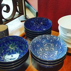 Have a thing for these bowls. @southgranville #kitchenware #bowie #foodie
