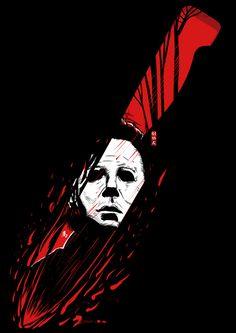 The Texas Chainsaw Massacre – Tobe Hooper – Horror Movie – Original Minimalist Art Poster Print Halloween Film, Halloween Horror, Halloween 2018, Michael Myers, Slasher Movies, Horror Movie Characters, Horror Villains, Horror Icons, Horror Films