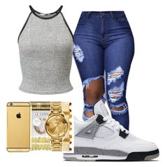 {if young metro doesn't trust you I'm gon shoot ya} by wavy-chii on Polyvore featuring polyvore, fashion, style, Miss Selfridge, NIKE and clothing