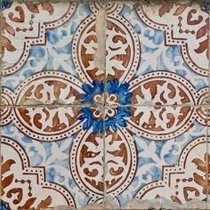 Waterfall For Home Decoration Tile Art, Mosaic Tiles, Tiling, Tile Patterns, Print Patterns, Black Interior Doors, Portuguese Tiles, Mosaic Designs, Decorative Tile