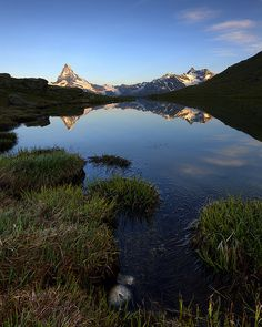 Stellisee Morning, Zermatt