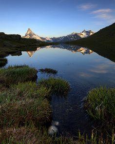 Stellisee Morning, Zermatt