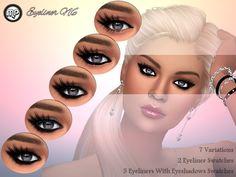 MP Eyeliner N6 at BTB Sims – MartyP via Sims 4 Updates Check more at http://sims4updates.net/make-up/mp-eyeliner-n6-at-btb-sims-martyp/