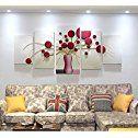 ZZZSYZXL 5pcs minimalista salón contexto del sofá de la pintura de cuadros en relieve tridimensionales: Amazon.es: Hogar