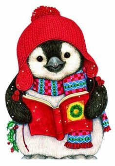 Penguin caroler