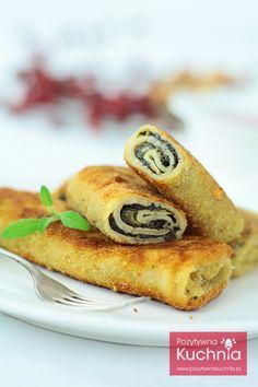 Najlepsze #krokiety z pieczarkami - idealne do barszczu.  http://pozytywnakuchnia.pl/krokiety-z-pieczarkami/  #przepis #pieczarki #grzyby