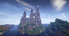 Castle Elsterburg Minecraft Project