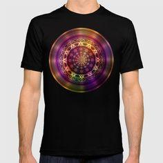 Golden shine mandala T-shirt