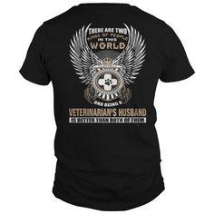 Best BEING A VETERINARIAN'S HUSBAND-back Shirt
